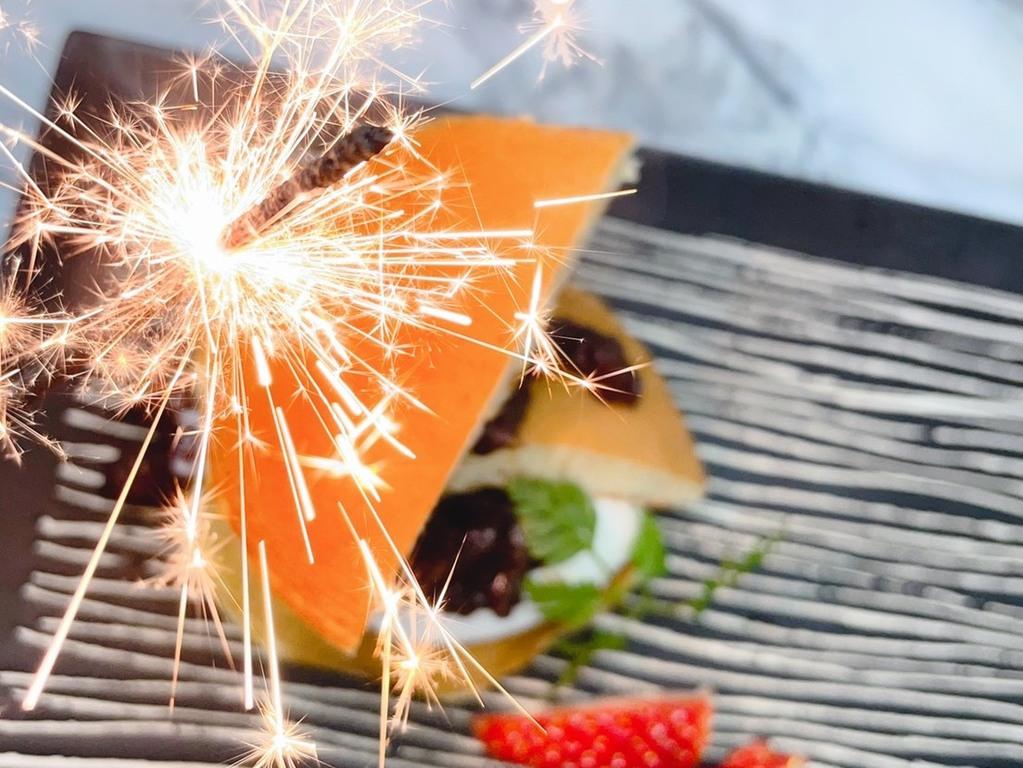 特別な記念日は啄木亭でお祝い!事前にお申し出いただきましたら、デザートプレートをご用意致します