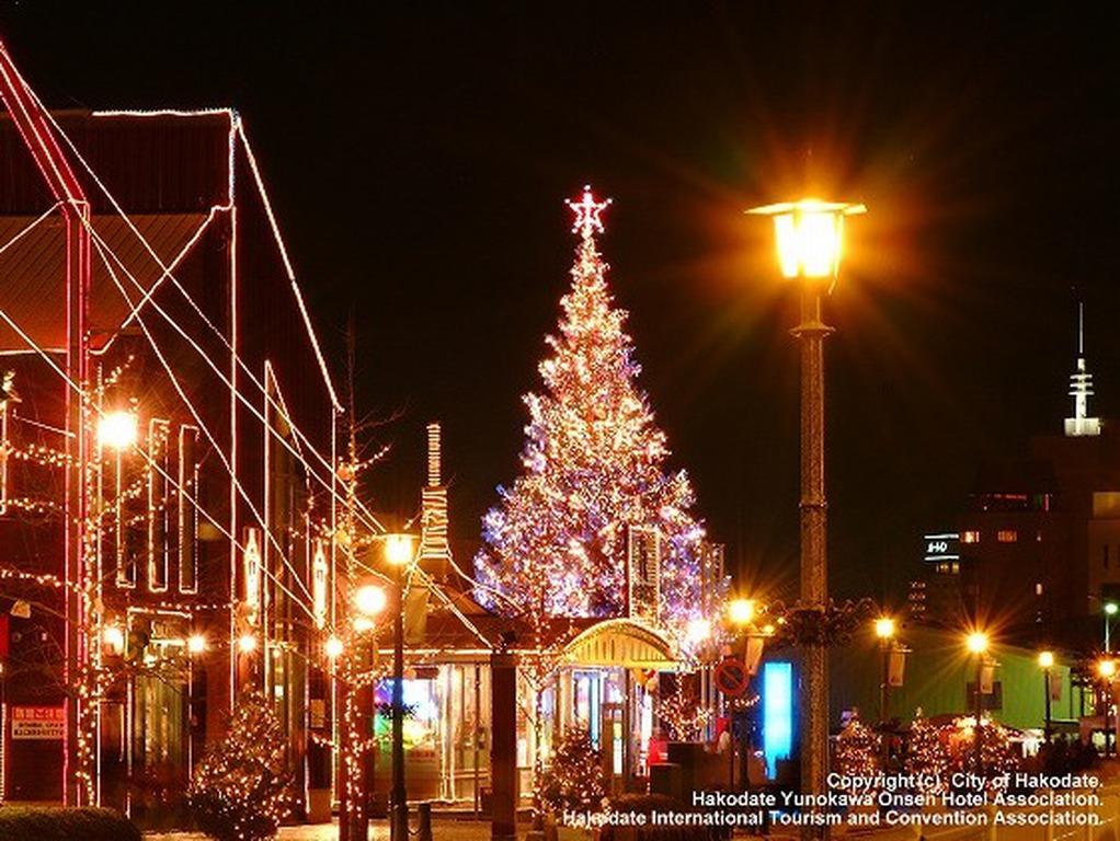 函館の冬の人気イベント、クリスマスファンタジー