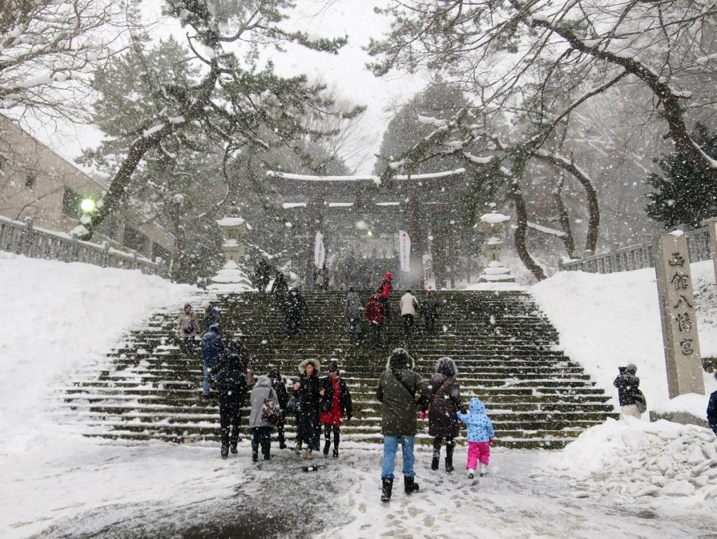 亀田八幡宮(箱館戦争終結の地)