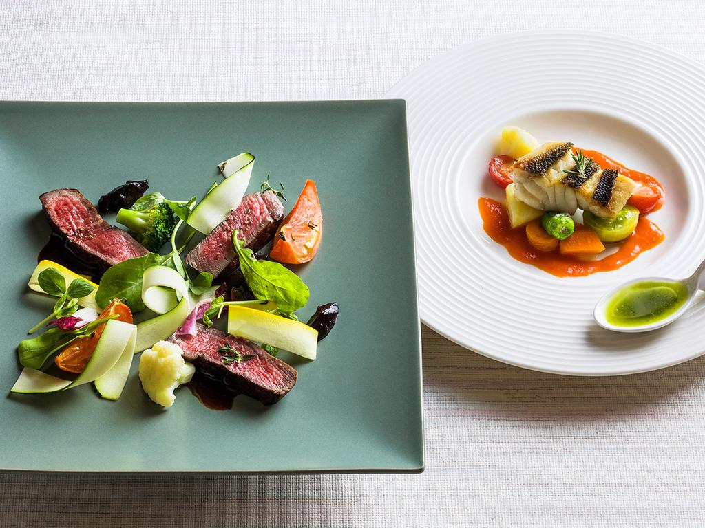 【ZEN・夏】メインのお肉料理は北海道士幌牛肉をお楽しみ下さい。