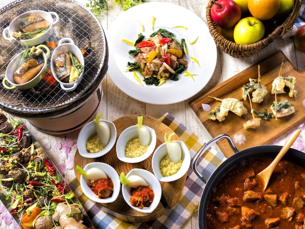 【夕食ブッフェ・3〜5月】桜プロモーション2017を開催!多彩な食材の出会いをお楽しみ下さい。