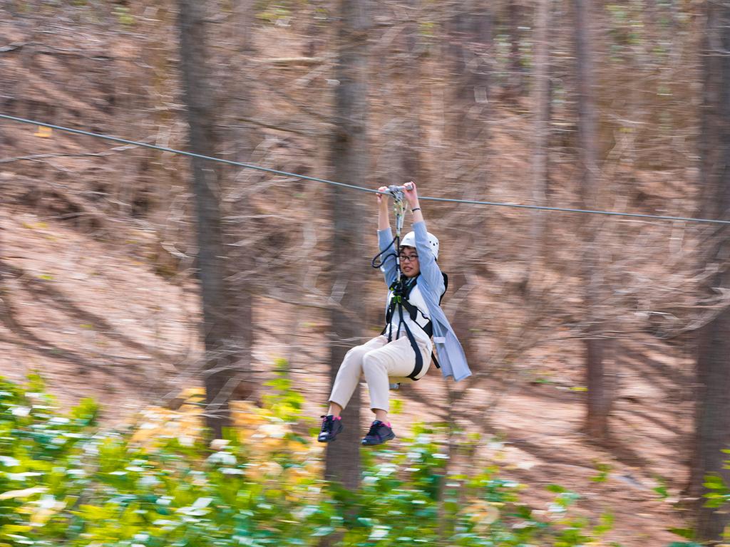 【ムササビ体験】大自然のなかで思いっきり遊びませんか。