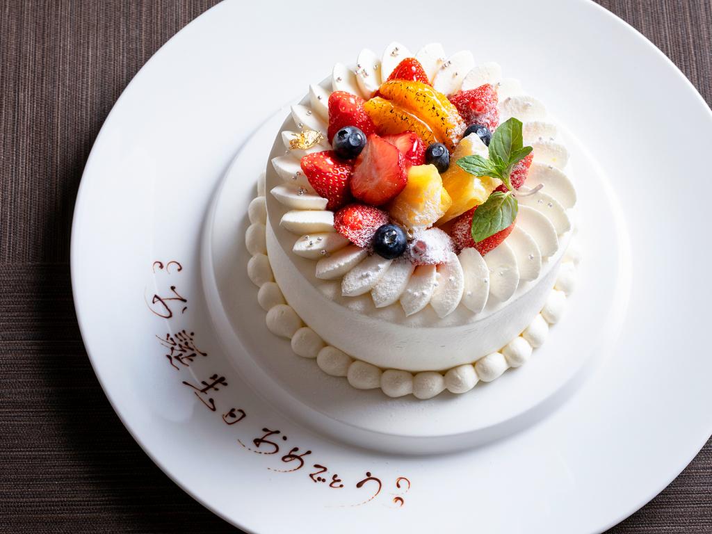 【アニバーサリーケーキ】6月22日お誕生日の方にプレゼント♪特別プラン販売中!(画像はイメージです)