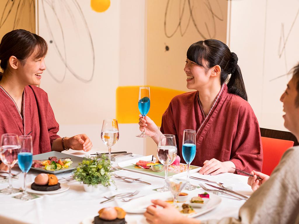 【ZEN・一例】会話を楽しみながらごゆっくりとお食事を。
