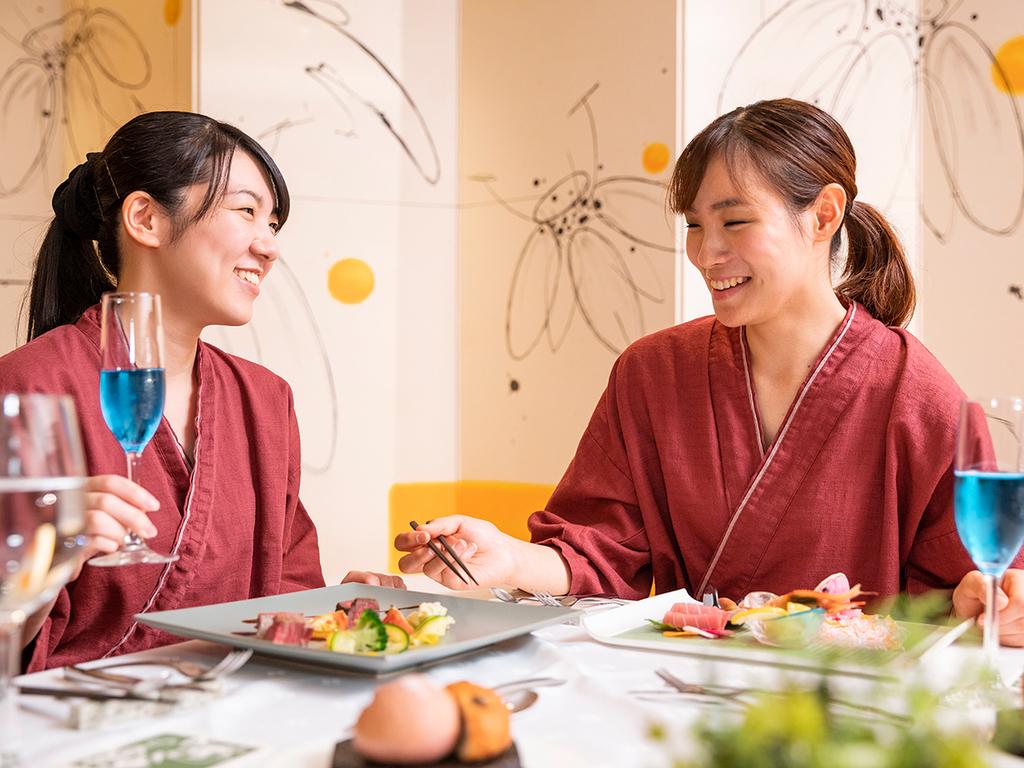 【ZEN・一例】野菜をたっぷり使用したコース料理は特に女性のお客様に好評です。
