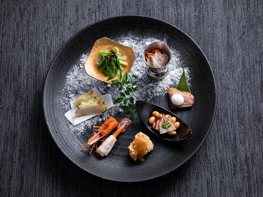 【もりの風茶寮・2020年秋】今季は北海道と大分県の名物料理を会席仕立てでご用意致します。