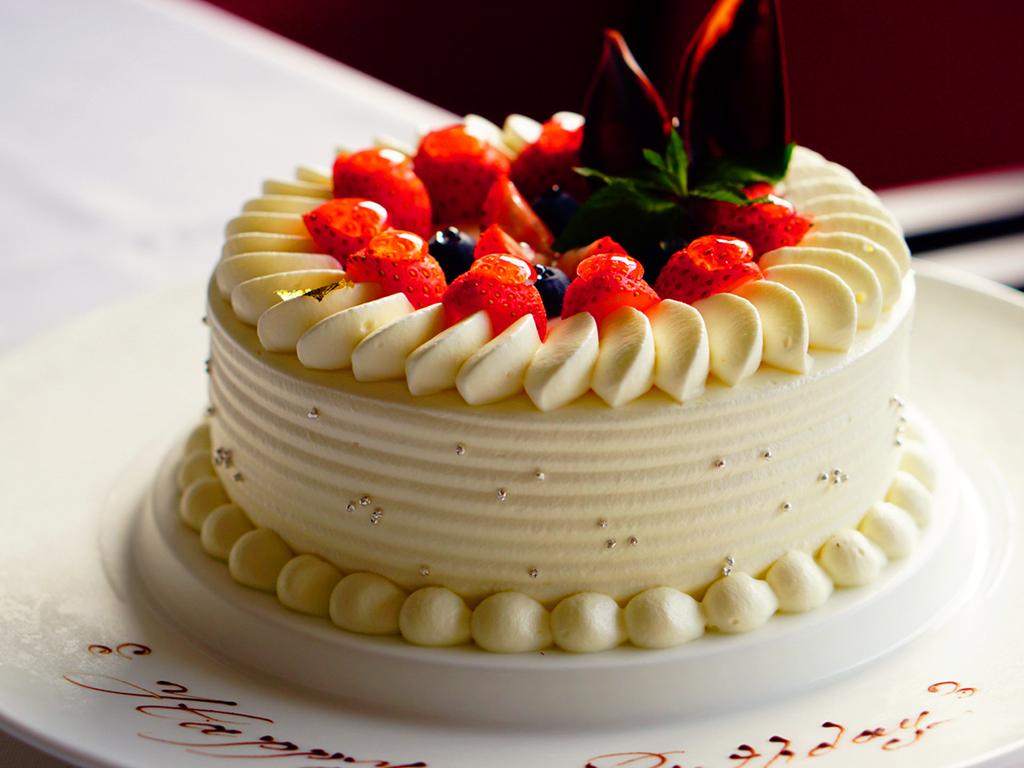 パティシエ特製ケーキでお祝いしませんか。※画像はイメージ