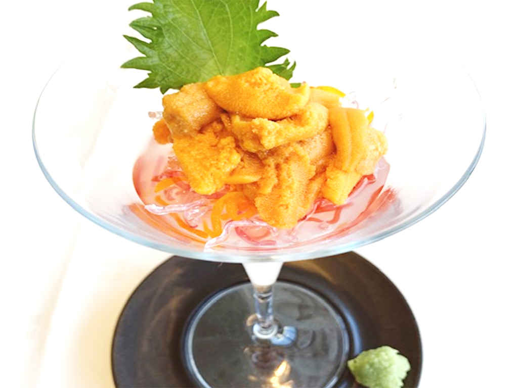 夏の旬の味覚!夕食にウニをプラスして贅沢に♪