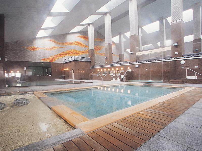 【大浴場】檜風呂