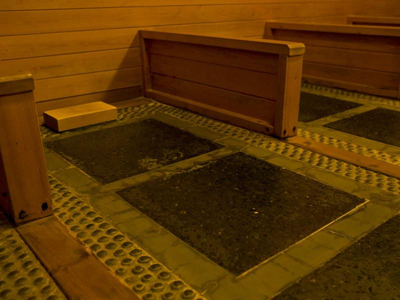 【岩盤風呂】北湯沢で唯一ホロホロ山荘だけ