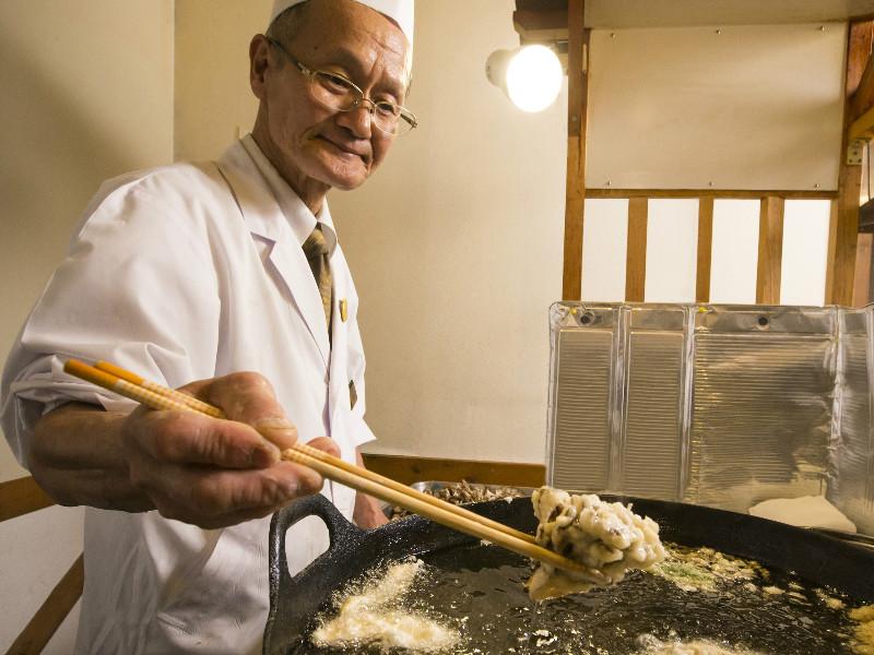 【夕食バイキング】揚げたてサクサクの天ぷら