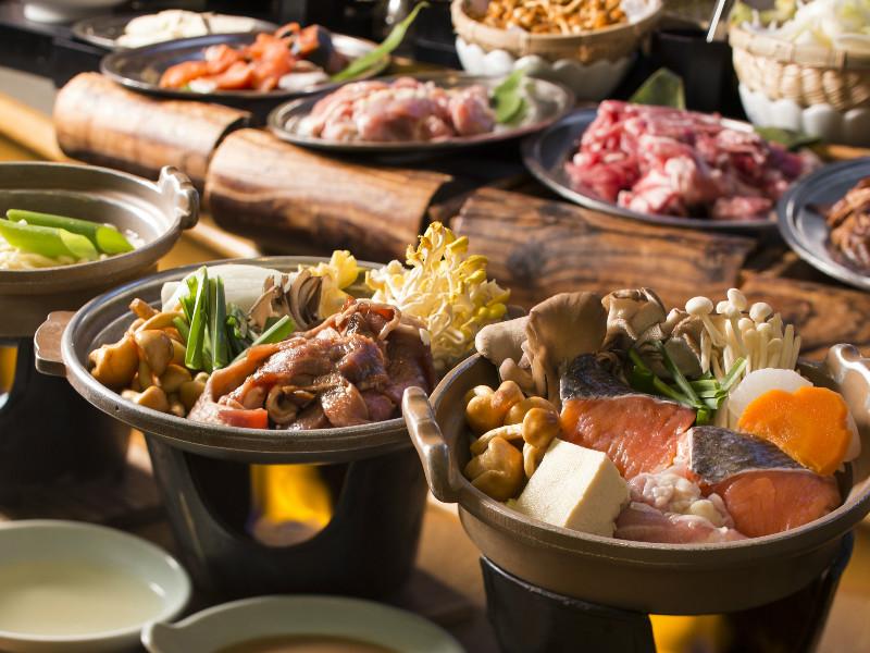 【夕食バイキング】冬のおススメ「お好み鍋」