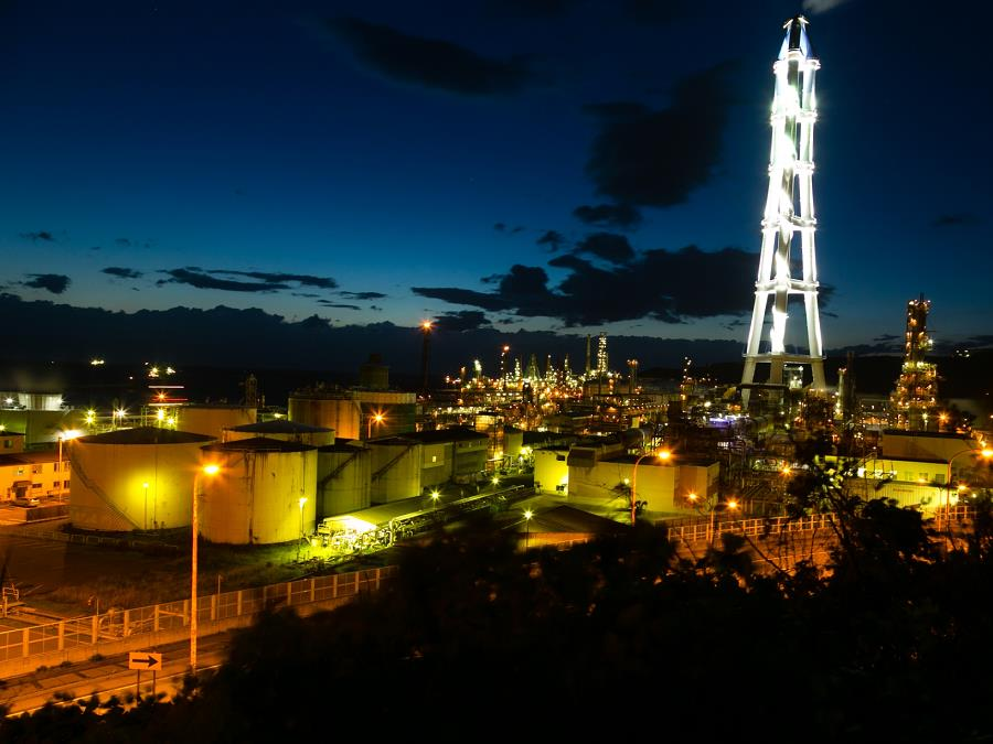 室蘭工場夜景