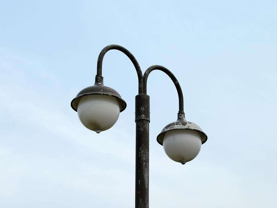 室蘭の外灯