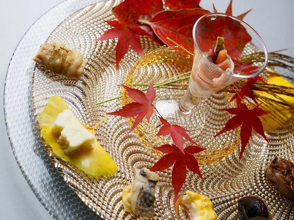 旬菜 すすきのささやき(秋の和懐石)