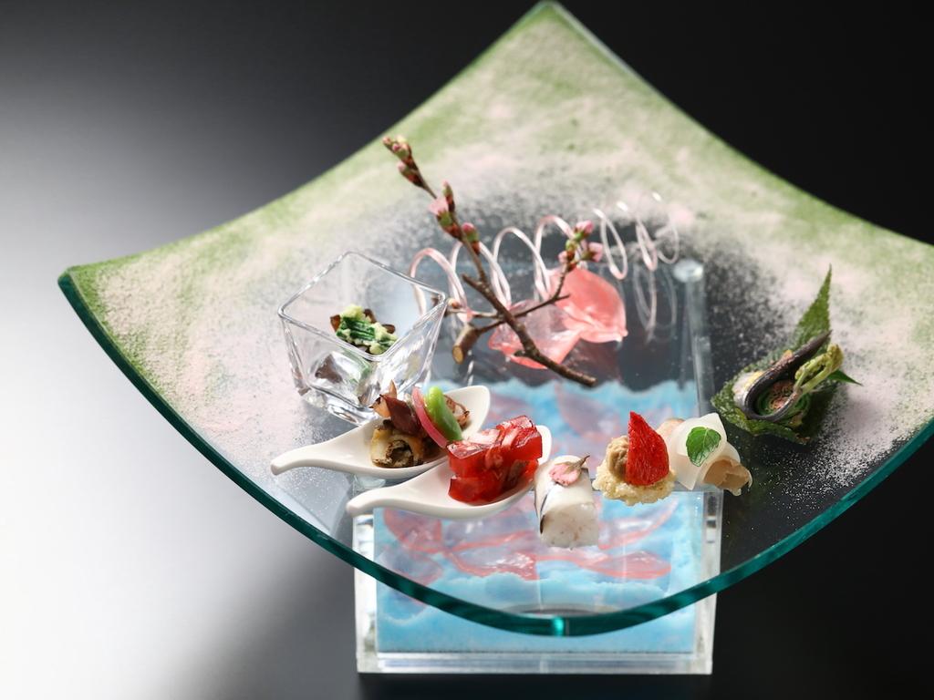 【春のお献立】旬菜 風の誘う花筏