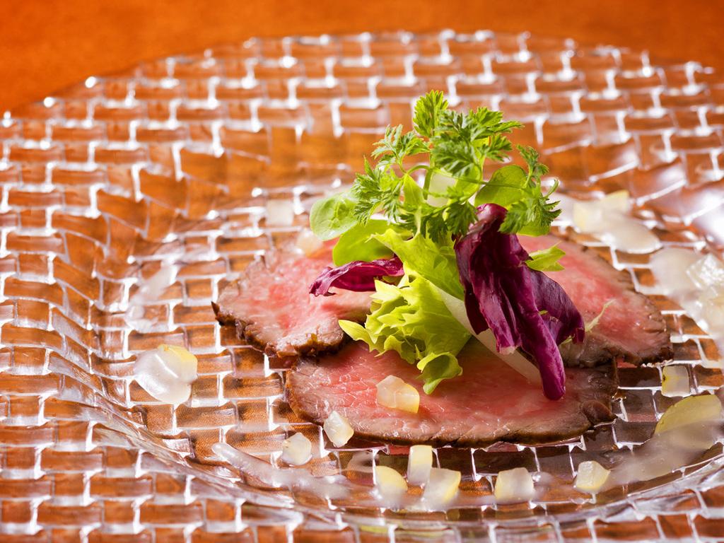 【函館銀座軒 一例】目にも華やかな前菜をご用意致します。