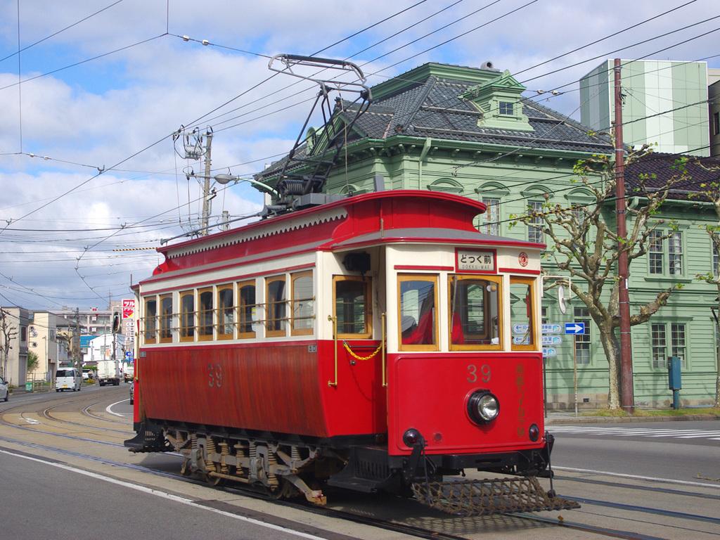 【函館市電】函館市内の移動・観光にかかせない市電。