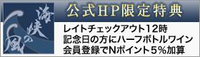 公式HP特典・Nポイント