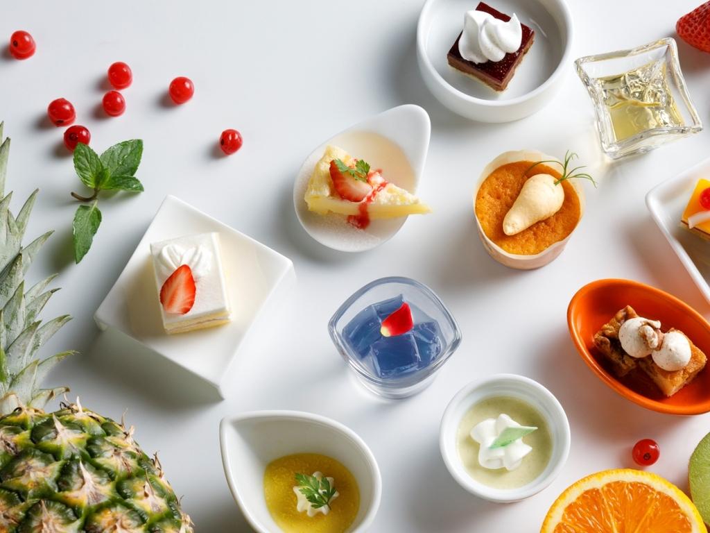 【青函市場一例】手作りスイーツ。旬のフルーツを使用した季節限定メニューもおすすめです。