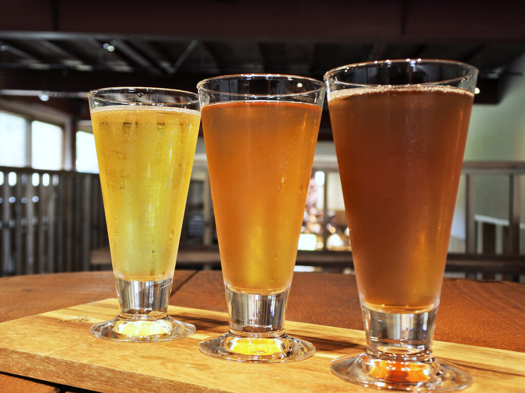 乙部町 クラフトビール飲み比べ!