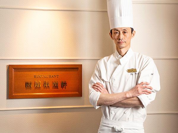 【函館銀座軒】洋食料理長兼、総料理長・村上。目で見て楽しくお洒落、食べて美味しく感動を与える料理をご提供いたします。