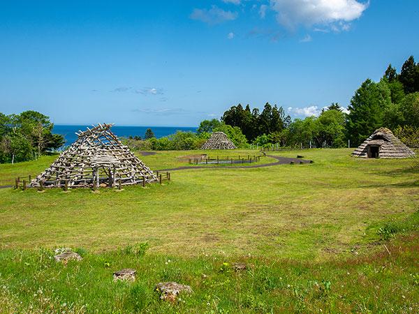 【大船遺跡】函館市南茅部エリアにある縄文遺跡。