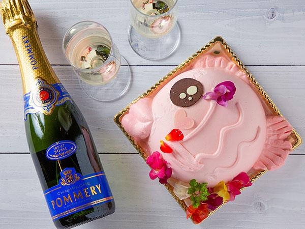 【めでたい(愛で鯛)ケーキ ミニ】記念日やお祝い事にオススメです!<要事前予約/4名向け1,650円(税込)