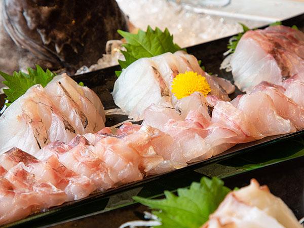 【青函市場一例】新鮮で上質な魚介だからこそ、お刺身で素材の味をお愉しみください。
