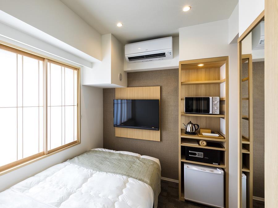 お部屋はお任せとなります。客室一例)シングル—ルーム