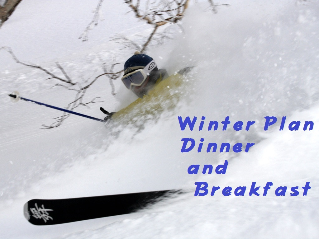 WinterPlan Dinner and Breakfast