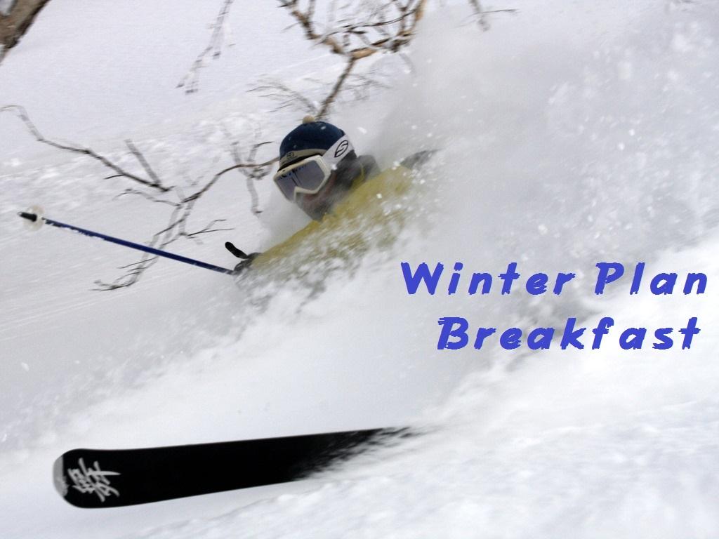 WinterPlan Breakfast
