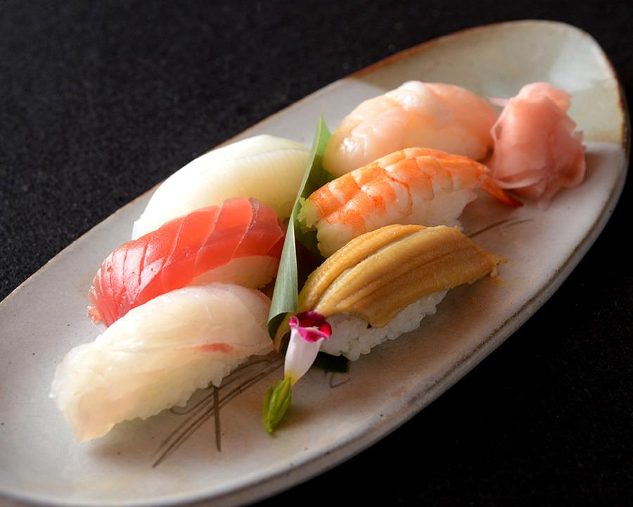 新鮮なネタのお寿司