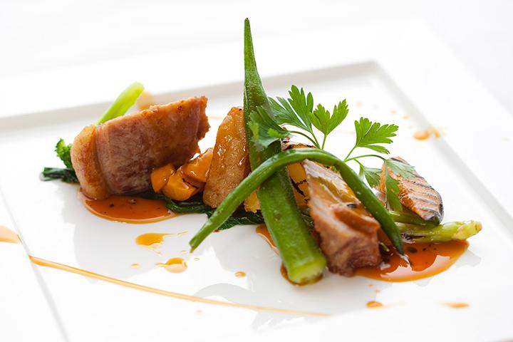 アグー背肉のロース/料理一例