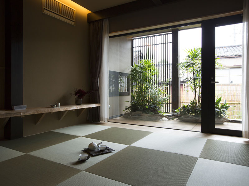 客室NISHI/ツイン 定員2〜3名