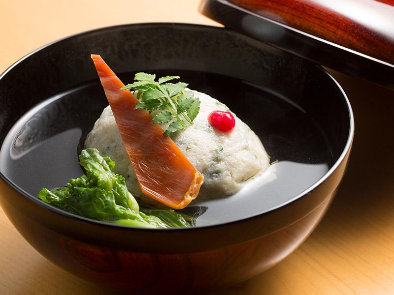 薪の音での宿泊+京都の老舗料亭で料理長を努めた店主による割烹「六花」外食プラン