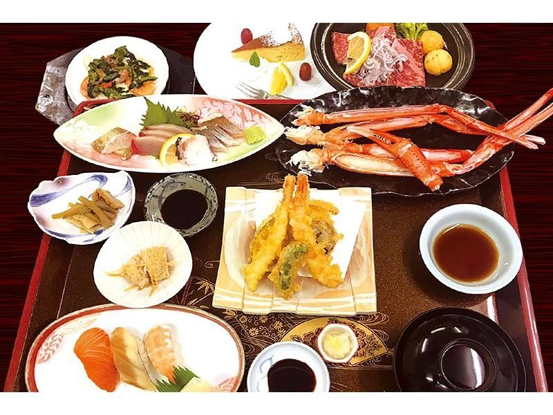 ホテル特製蟹御膳
