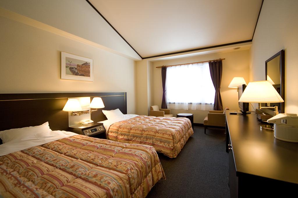 ホテル洋室ツインルーム