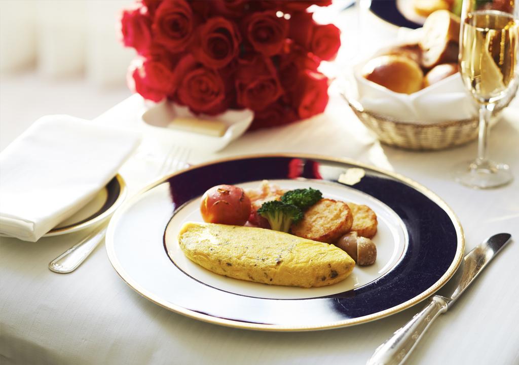 トリュフオムレツのご朝食