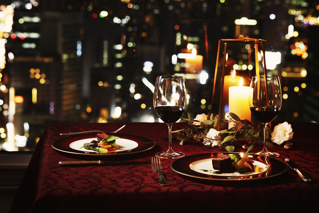 ルームサービス フランス料理「ラ・ベ」クリスマスディナー