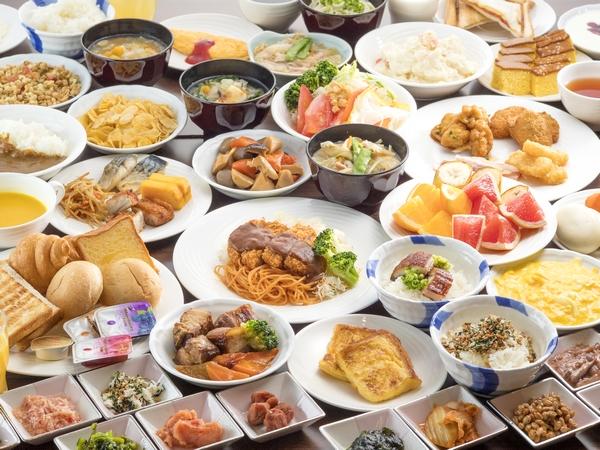 長崎名物から定番メニューまで、元気朝食!