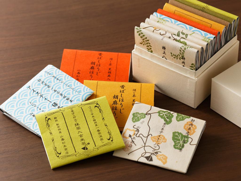 山壽杉本商店緑茶