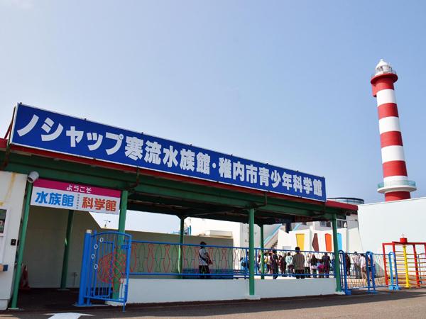寒流水族館