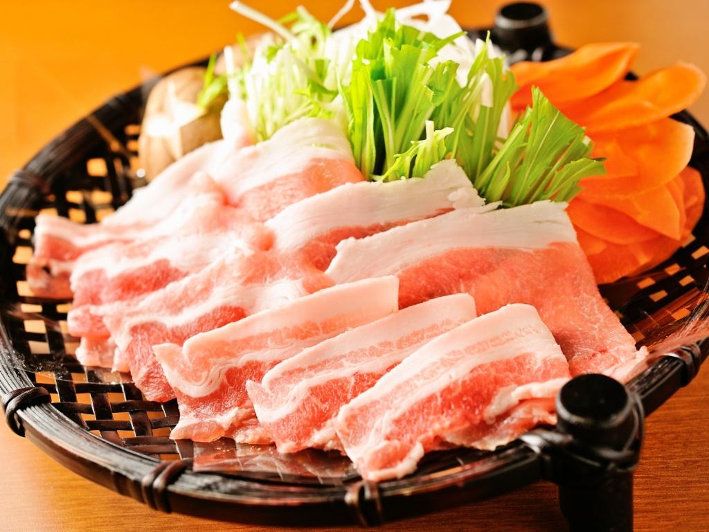 伊豆豚のしゃぶしゃぶ:【おまかせ会席】メイン料理