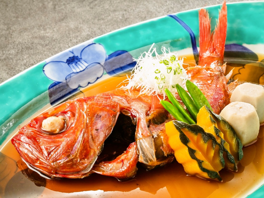 金目鯛の姿煮:【翠】煮物