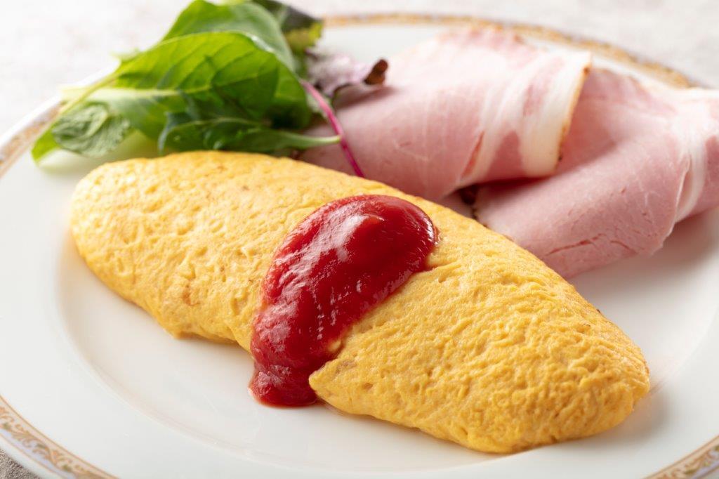 朝食<和洋バイキング>洋食一例