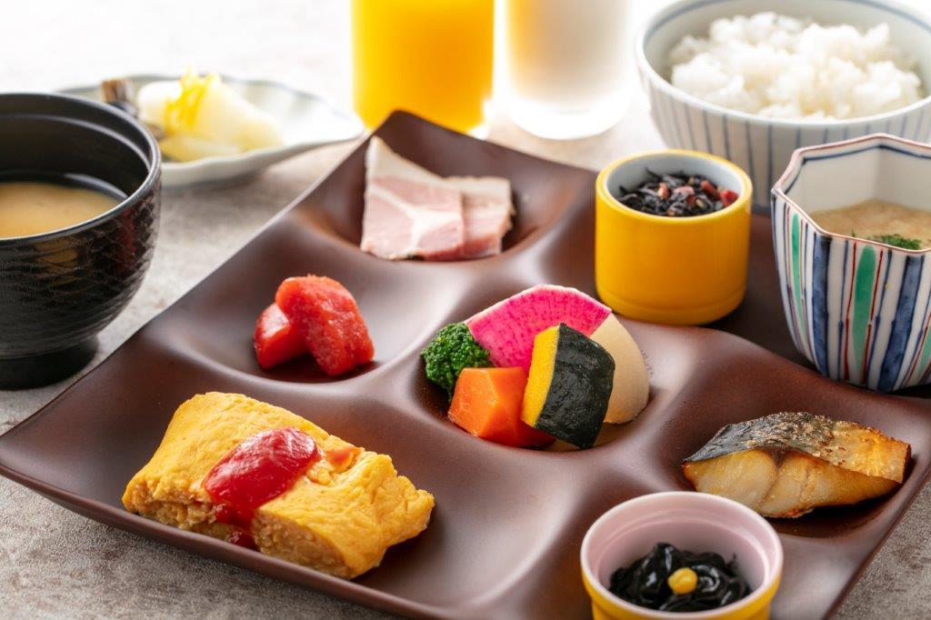 朝食<和洋バイキング>和食編一例