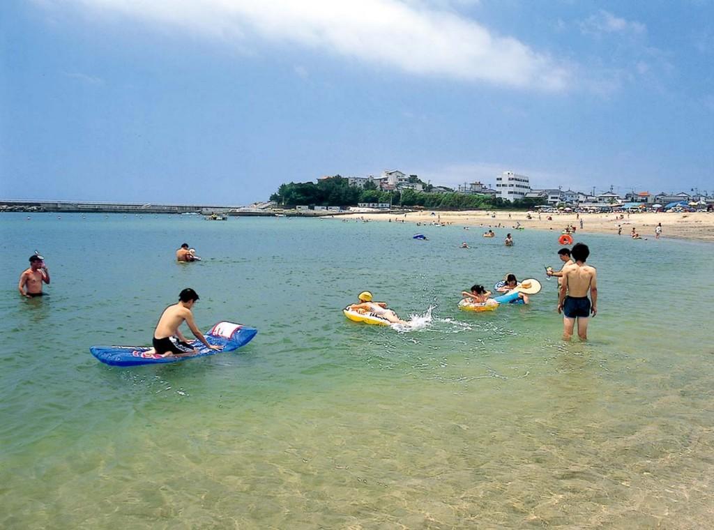 浜島海浜公園(大矢浜海水浴場)