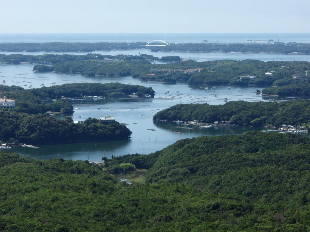 リアス海岸を一望する横山展望台