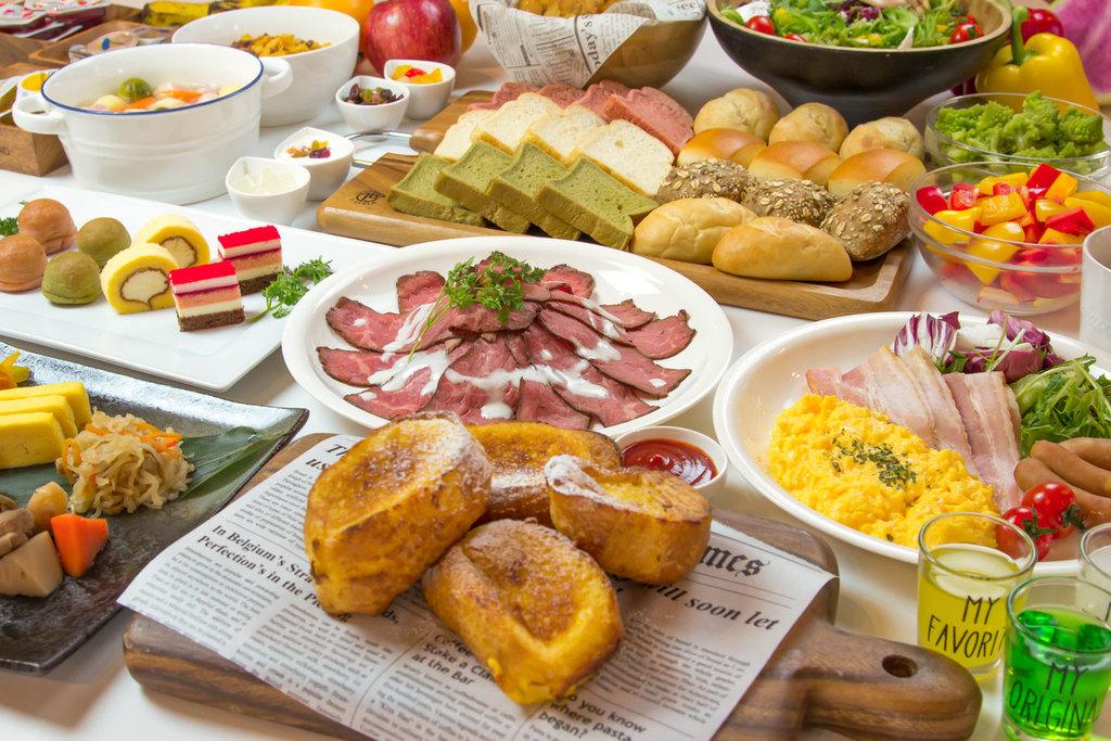 レストラン「DOBY」の朝食イメージ